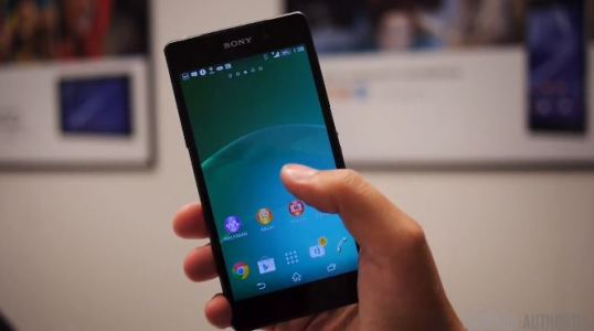 New Sony Xperia Z2 with Better Display