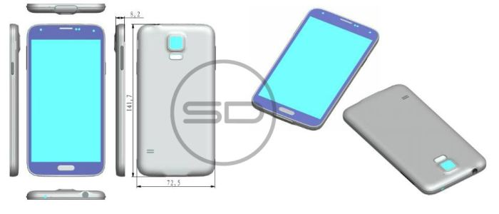 Galaxy S5 to Sport Similar Design with Its S4 Flagship