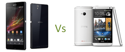 Xperia Z2 versus HTC One