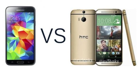 Samsung Galaxy S5 vs HTC One