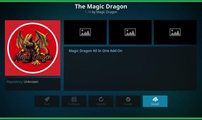 Best Kodi Addons 2020 list no 10 The magic dragon