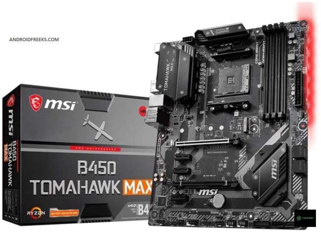 MSI B450 Tomahawk Max is one of the Best Motherboard For Ryzen 9 3900X