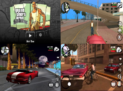 Download GTA San Andreas Apk 1 08 (Apk + Data)