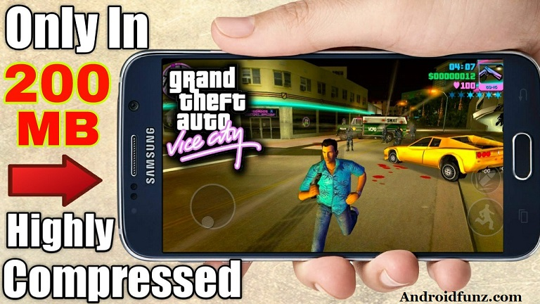 gta vice city game download compressed file