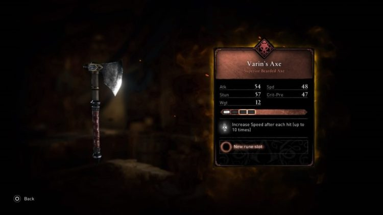 [GUIDE] :  Assassin's Creed Valhalla |  What are the Best Weapons for Beginning, Mid and Late Game Part One