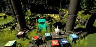 SkyBot Valley Puzzle Solving Game