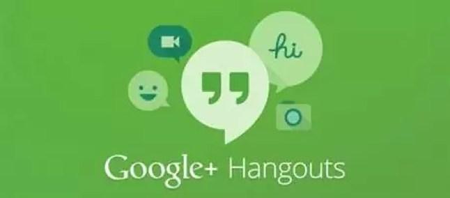 google + hangouts