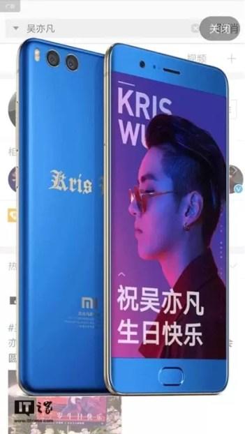 Xiaomi lança edição limitada do Mi Note 3 1