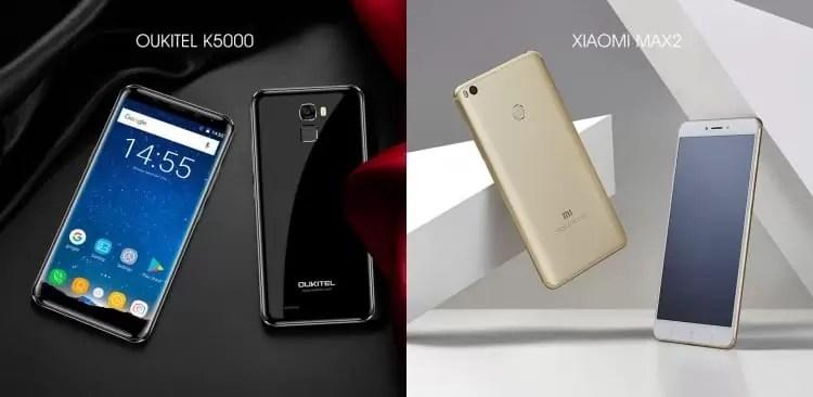Festival de descontos 1111 está a chegar, qual preferem o XIAOMI MAX 2 ou OUKITEL K5000? 3