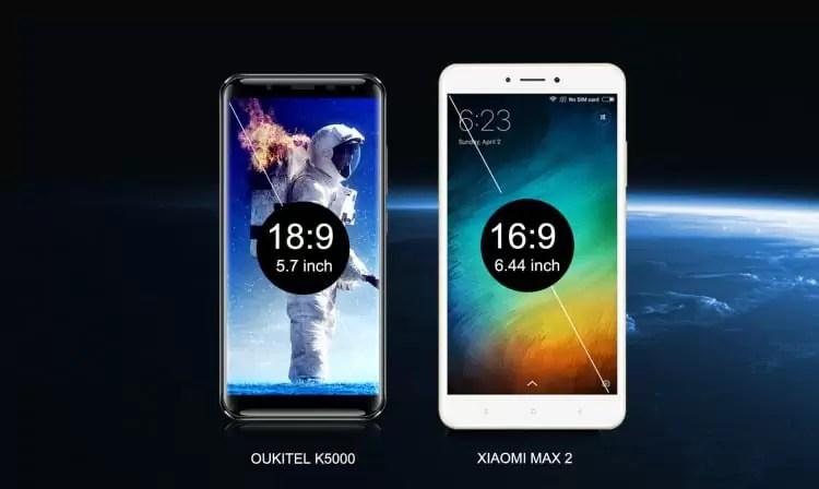 Festival de descontos 1111 está a chegar, qual preferem o XIAOMI MAX 2 ou OUKITEL K5000? 2