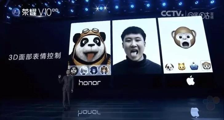 Huawei revela tecnologia FaceID e Animoji ao seu estilo 2