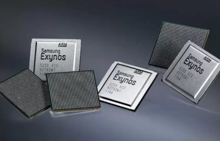 Produções em massa de chips por parte da Samsung 1