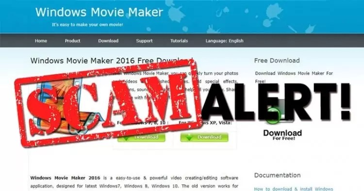 Windows Movie Maker falso espalha-se graças a alto posicionamento em motores de busca 1