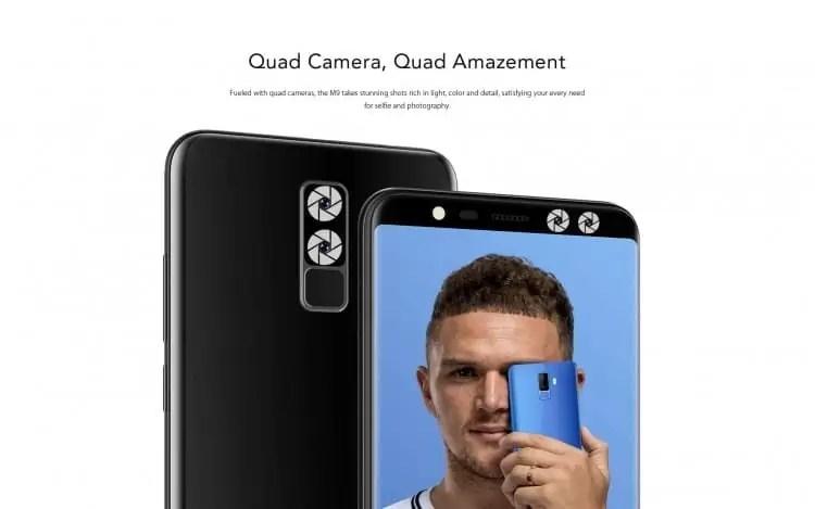 LEAGOO M9 Pré-venda: 20% de desconto na compra do primeiro telefone de orçamento de ecrã inteiro 2