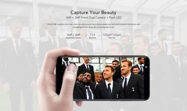 LEAGOO M9 Pré-venda: 20% de desconto na compra do primeiro telefone de orçamento de ecrã inteiro 3