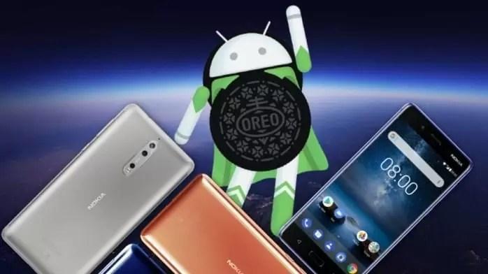 Nokia 8 Oreo