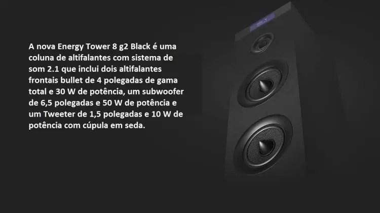 Análise Energy Tower 8 g2. Uma coluna Hi-Fi que vais adorar 2