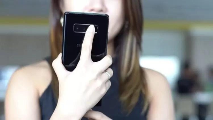 Samsung Galaxy S9 e S9+ mostram a sua traseira em imagem real 6