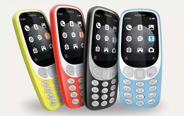 Nokia 3310 4G corre YunOS baseado em Android 1