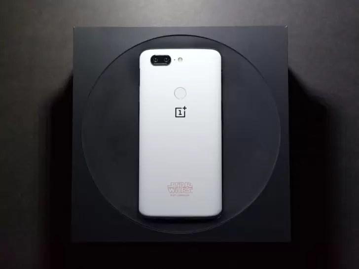 OnePlus vai baptizar estrelas com os nomes dos primeiros 37 clientes do OnePlus 5T Star Wars Limited Edition 1