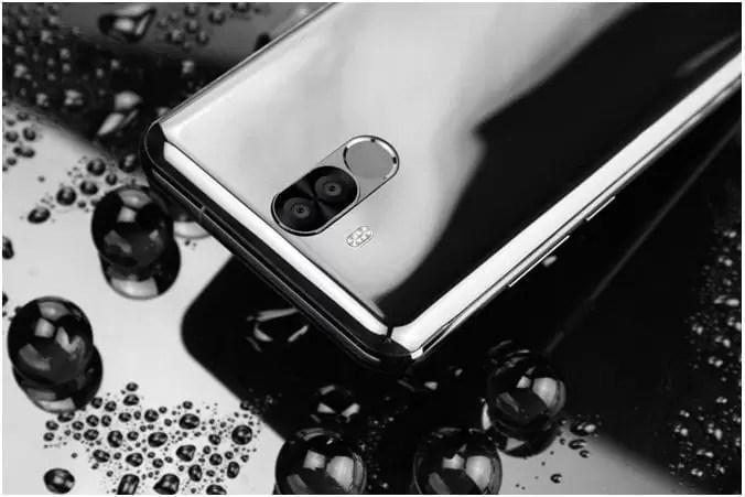 OUKITEL K6 em Flash Sale com Soc Helio P23, bateria de 6300mAh, Face ID e o sensor NFC 4