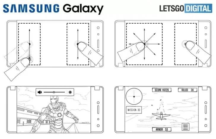 Samsung e as suas patentes de telefone dobrável serão focadas em Mobile Gaming 1