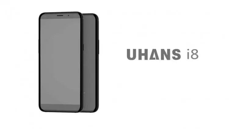 UHANS i8 é um clone do S8 com 4GB de RAM e ecrã FULLVIEW por 1/8 do preço 1