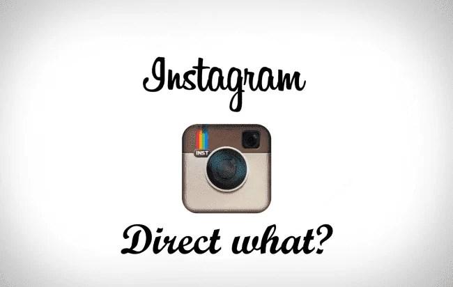 Sabiam que já podem enviar vídeos ao vivo no Instagram Direct? De nada. 1