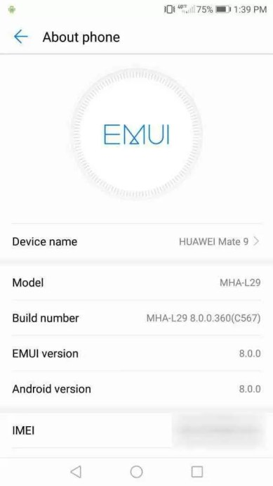 Huawei Mate 9 começa a receber update do Android Oreo em novo mercado 1