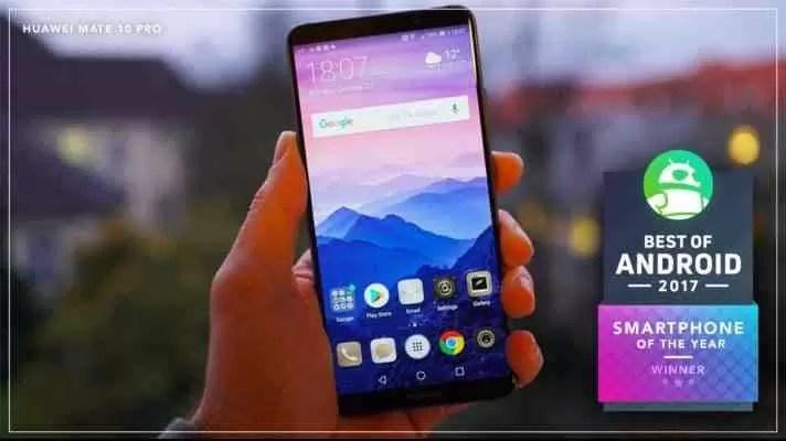 Huawei Mate 10 Pro recebe prémio de melhor Smartphone de 2017 dos especialistas 2