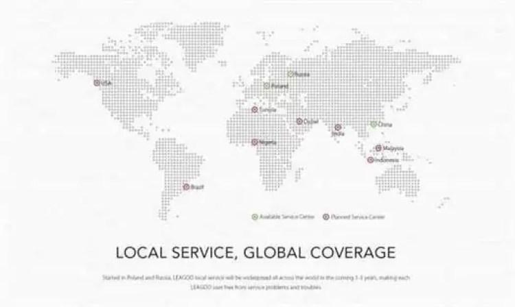 LEAGOO começa 2018 com decisivo passo de criar centros de assistência na Europa e Russia 3