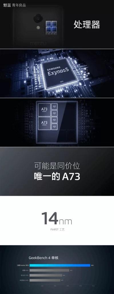 Meizu M6S é oficial com Exynos 7872, ecrã 18: 9 e Super mBack Gestures 4