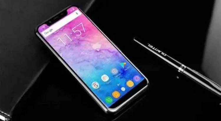 OUKITEL U18 antevisão preliminar: imita iPhone X e Huawei Mate 10 Pro 1