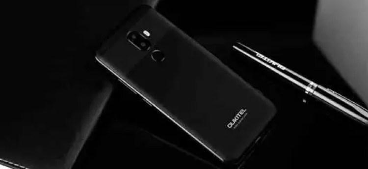 OUKITEL U18 antevisão preliminar: imita iPhone X e Huawei Mate 10 Pro 2