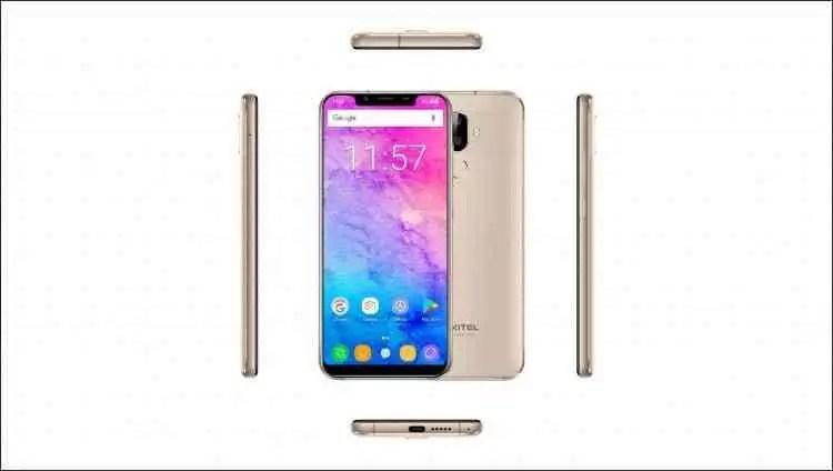OUKITEL U18 com Notch Display vê as suas especificações completas confirmadas, 4 GB de RAM com 4000 mAh de bateria 2