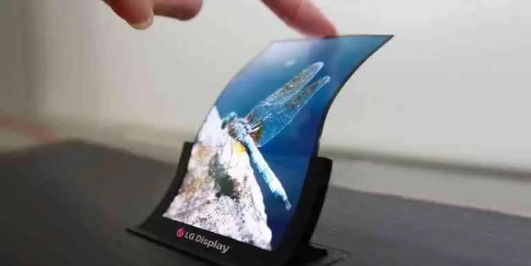 Ecrã OLED Flexível da LG
