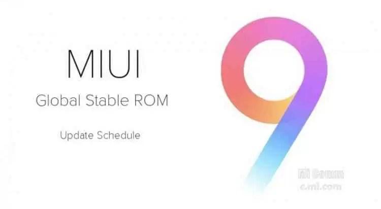 Xiaomi vai atualizar 40 modelos para MIUI 9 , descobre se o teu está na lista 1