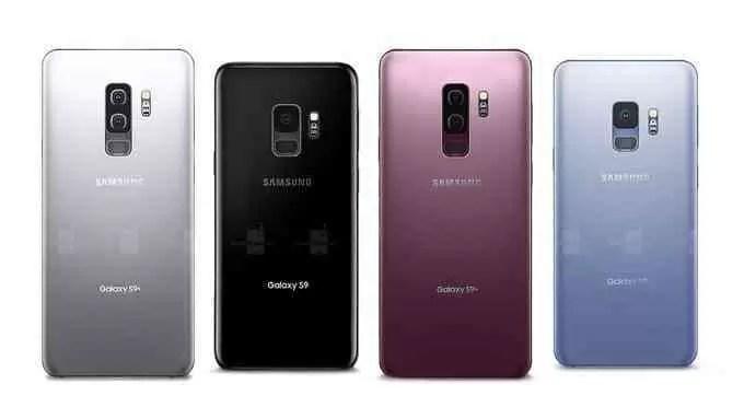 Samsung Galaxy S9 estará disponível em quatro cores. Qual a vossa preferida? 2
