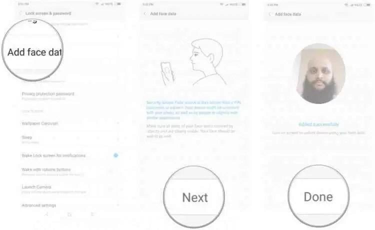 Como configurar o Face Unlock no Xiaomi Redmi Note 5 Pro 4