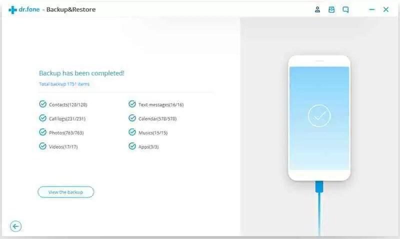 Como fazer backup e restaurar o seu Android com um clique 5