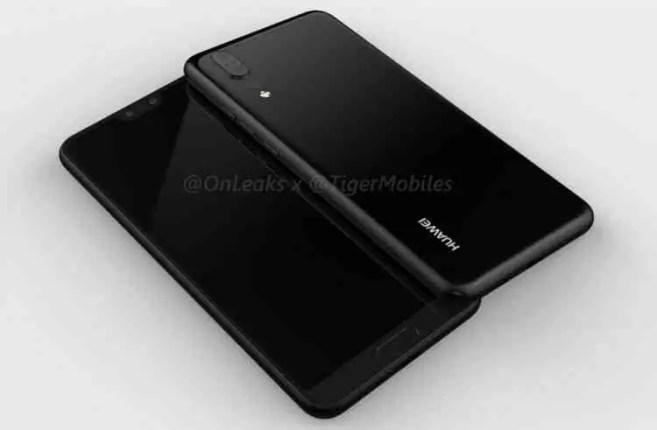 Depois das versões lite e plus, temos os renders do Huawei P20 1