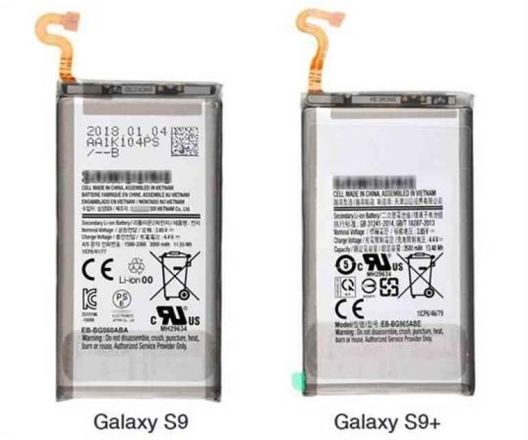 Galaxy S9 e S9 + terão baterias com provavelmente o mesmo tamanho da linha Galaxy S8 1