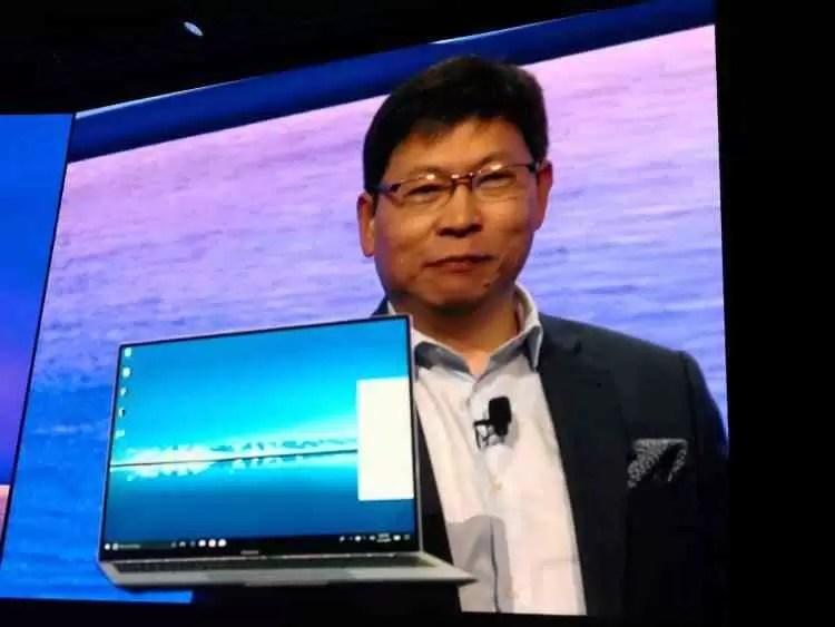 Huawei mostra os esperados Huawei Matebook X Pro e Media Pad M5 no MWC 2018 2