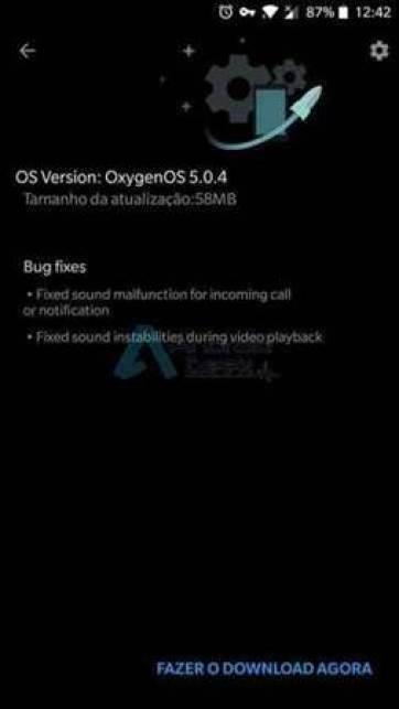 Oneplus 5 começa a receber a OxygenOS 5.0.4 1