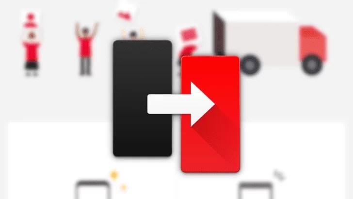 Aplicativo OnePlus Switch atualizado com backups locais 1