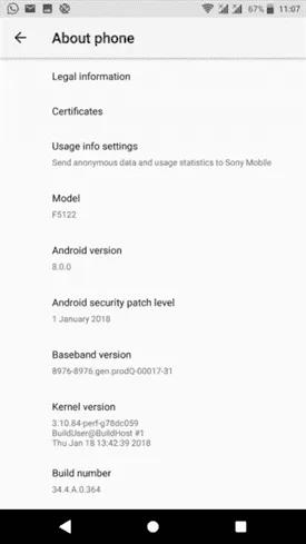 Xperia-X-update
