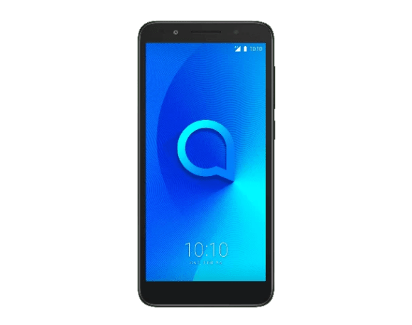 Alcatel 1X-Dark Gray (Suede)-Front-preview