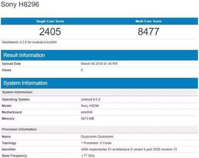 Sony Xperia XZ2 prestes a chegar a mais um mercado 2