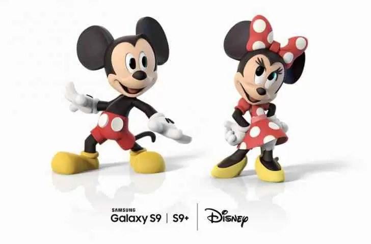 Como funcionam os AR Emojis do Mickey Mouse no Samsung Galaxy S9 e S9+ e como usar 4