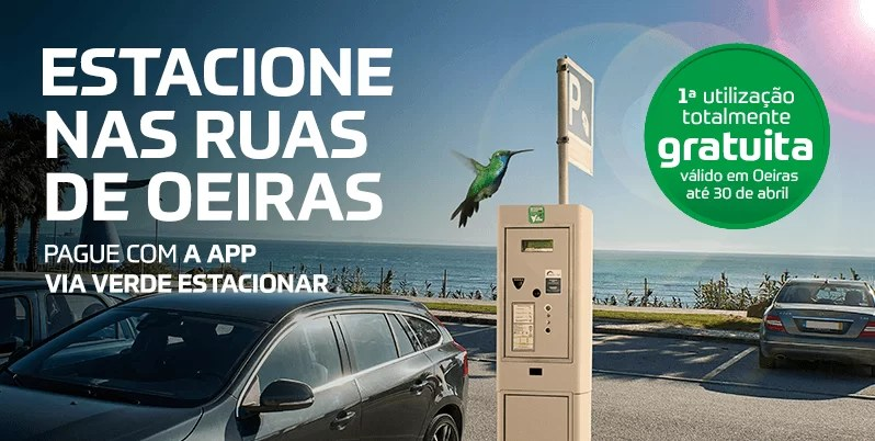 Estacionar em Oeiras é mais fácil com a App Via Verde 1